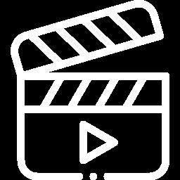 Films, TV en Soaps. icoon